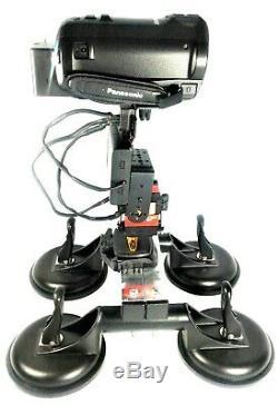 Caméra Vidéo Toit Support Voiture + Télécommande Sans Fil 360 ° Pan 180 ° Dispositif D'inclinaison