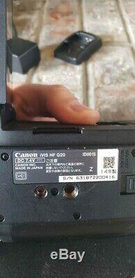 Canon Hf G20 (32 Go) Avchd Utilisé Moins De 10 Fois