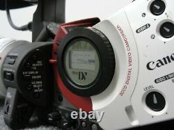 Canon Xl1s 3ccd Caméscope Numérique Avec Canon 16x 5.5-88mm F1.6-2.6 Is Objectif