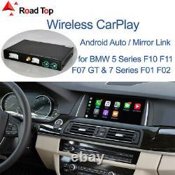 Carplay Sans Fil Android Interface Automatique Pour Bmw 5 7 Série F10 F11 F07 Gt F01