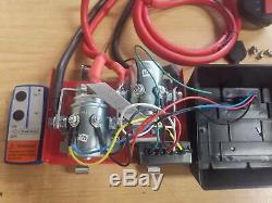 Commande Box Pack Treuil 12v Solenoïde Commutateur Sans Fil À Distance Deliverys Libre