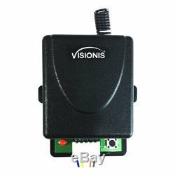 Contrôle D'accès Visionis 600lbs Serrure Magnétique Avec Et Sans Fil À Distance Du Récepteur