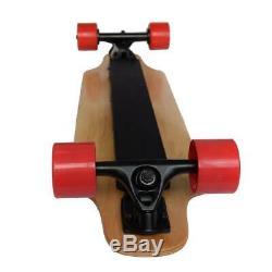 Contrôle Longboard Skate Électrique Sans Fil Bluetooth Longboard À Distance Planche À Roulettes