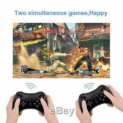 Contrôleur Noir Classique Sans Fil Pro Jeu À Distance Gamepad Pour Nintendo Wii U