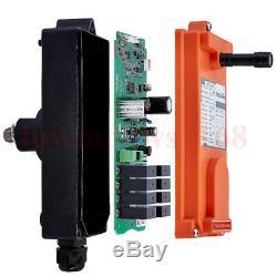 Crane Hoist Télécommande Radio Sans Fil Industriel Émetteur Et Réception F21-e1b