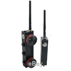 Double Ch Sans Fil Follow Focus Slr Contrôleur Électronique Gimbal Télécommande