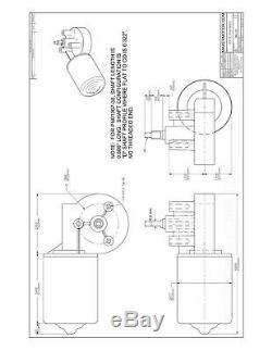 Double Porte Porte Kit Radio Télécommande Sans Fil + Deux Pm Motoréducteur DC