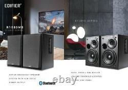 Edifier R1580mb Active Bluetooth Studio Haut-parleurs Pa Système Tv/mac/pc MIC Entrée