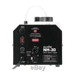 Eurolite Nh-30 Mk2 Machine DMX Haze Inc Timer / Télécommande Sans Fil Hazer Contrôle