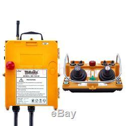 F24-60 12v Emetteur Récepteur Industria Télécommande Sans Fil Joystick Grue