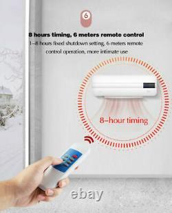 Fiche De Chauffage Portable Des Conditions Aériennes Home Timing Installation Gratuite Wifi Sans Fil