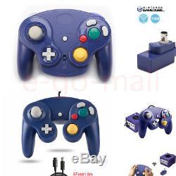 Filaire / Sans Fil À Distance Gamepad Manette Controller Pour Nintendo Gamecube