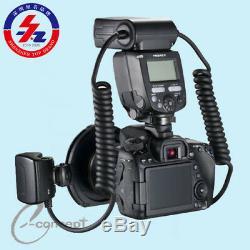 Flash Annulaire Yongnuo Yn24ex Yn24-ex Ttl Avec Bague D'adaptation Pour Canon Eos
