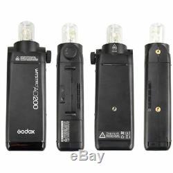Flash De Poche Cmera Us Godox Ad200 2.4g Hss Sans Fil Hss 1 / 8000s Pour Canon Nikon Sony