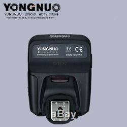 Flash Yongnuo Yn600ex-rt II Flash Speedlite + Déclencheur Yn-e3-rt II Pour Canon