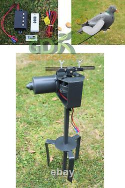 Gdk, Pigeon Magnet 2 X Et Decoys 70m À Distance Sans Fil, La Vitesse Du Rotary