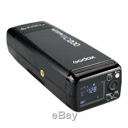 Godox 2.4g Double Tête Ad200 Ttl Hss Studio Strobe Flash Camera S Type Support