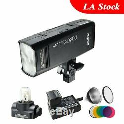 Godox 2.4g Ttl Batterie Double Tête Ad200 Poche Speedflash Speedlite 2900mah
