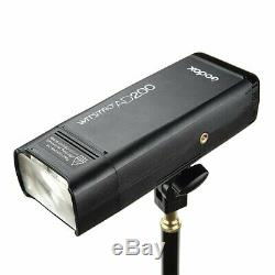 Godox Ad200 2.4g Ttl 1/8000 Hss Double Tête De Poche Speedlite Avec Batterie