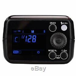 Godox Ad200 2.4g Ttl Hss1 / 8000s À Double Tête De Poche Speedlite Caméra Extérieure Flash