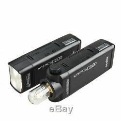 Godox Ad200 Ttl Flash Flash Avec Nikol Canon Sony Pour Appareil Photo Numérique À Poche Double Tête
