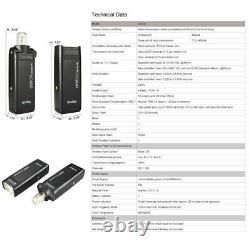 Godox Ad200 Ttl Hss 1/8000s 200w Flash Speedlite Strobe F Canon Nikon Sony Fuji