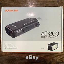 Godox Ad200 Ttl Pocket Flash + X1t-s Sans Fil Déclencheur Pour Sony
