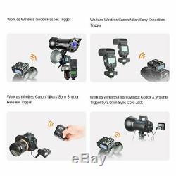 Godox V1-s 2.4g Ttl Speedlite X2t-s Trigger Pour Sony + 20pcs Filtres Cadeau
