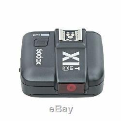 Godox V1c Ttl Speedlite 20 Filtres Couleur Cadeau Pour Canon + X1t-c Trigger Us