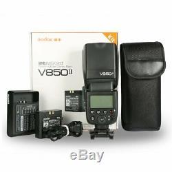 Godox V850ii 2.4g Gn60 Speedlite 2000mah F Canon Nikon Pentax Olympus