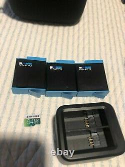 Gopro Hero 9 Black Avec 3 Batteries, Adaptateur De Batterie, Microsd 64 Go, Accessoires Nd
