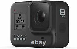 Gopro Hero8 Action Camera Noir Avec Touchscreen 4k, Batteries, 64go (chdhx-801)