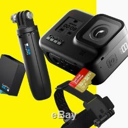 Gopro Hero8 Caméra Noir Comprend Shorty, Serre-tête, Carte Sd 32 Go Et 2 Batts