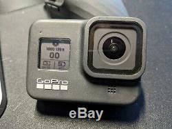 Gopro Hero8 Noir Avec Batterie Supplémentaire, Longe Et Manches, 128go Sd Card