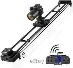 Gvm 48 ' ' Curseur Caméra Motorisée Avec Télécommande Sans Fil, Dolly Électronique
