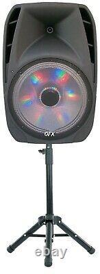 Haut-parleur Bluetooth Portable Avec Support Et Microphone Sans Fil 5-band 7500w