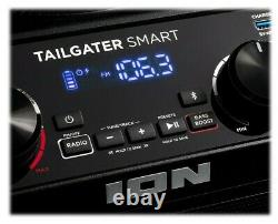 Haut-parleur Rechargeable Haute Puissance Ion Tailgater Pour Amazon Echo Dot