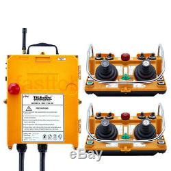 Industriel Joystick Grue Télécommande Sans Fil Récepteur 1transmitter 1