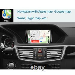 Interface Automatique Sans Fil Carplay Android Pour Mercedes Benz Classe E W212 2011-2015
