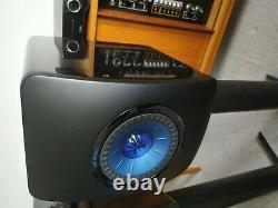 Kef Ls50 Wireless Studio Librairie Haut-parleurs Gloss Noir/blue