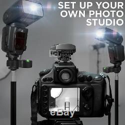 Kit Flash Altura Photo Studio Pro Pour Dslr Canon Avec 2 Flashs E-ttl