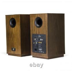 Klipsch Les Sixes Walnut Porte-livres Powered Speakers (1pr) B Stock