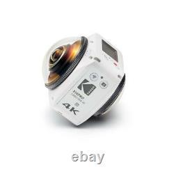 Kodak Pixpro Orbit360 4k Vr Camera Satellite Pack #orbit360 4k-wh3