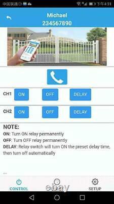 Kt-g3-a USA 4g Gsm Auto Relay Switch 12v Remote Control Box Ouvre-porte Sans Fil