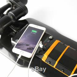 Le Double Moteur À Télécommande Sans Fil Commutable De Skateboard Électrique 40km / H