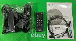 Lg Sl3d 2.1 Canaux Sound Bar, Bluetooth, Sans Fil Avec Caisson De Basses Télécommande