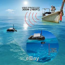 Lucky Fish Finder Télécommande Sans Fil 300m / 980ft Écran Couleur Bateau Pêche