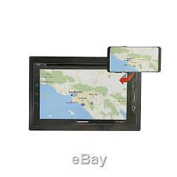 Miroir Blaupunkt Lien 6.2 2 Din Tactile DVD + Audio Stereo Auto Caméra