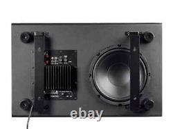 Monoprice Ssw-10, 150 Watt Powered Slim 10 Inch Subwoofer Noir