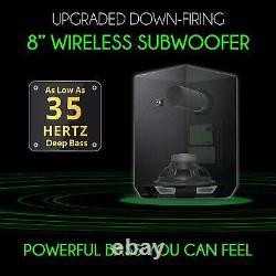 Nakamichi Shockwafe Pro 7.1.4 Ch 600w Soundbar W Dolby Atmos, Dolby Vision+sse A